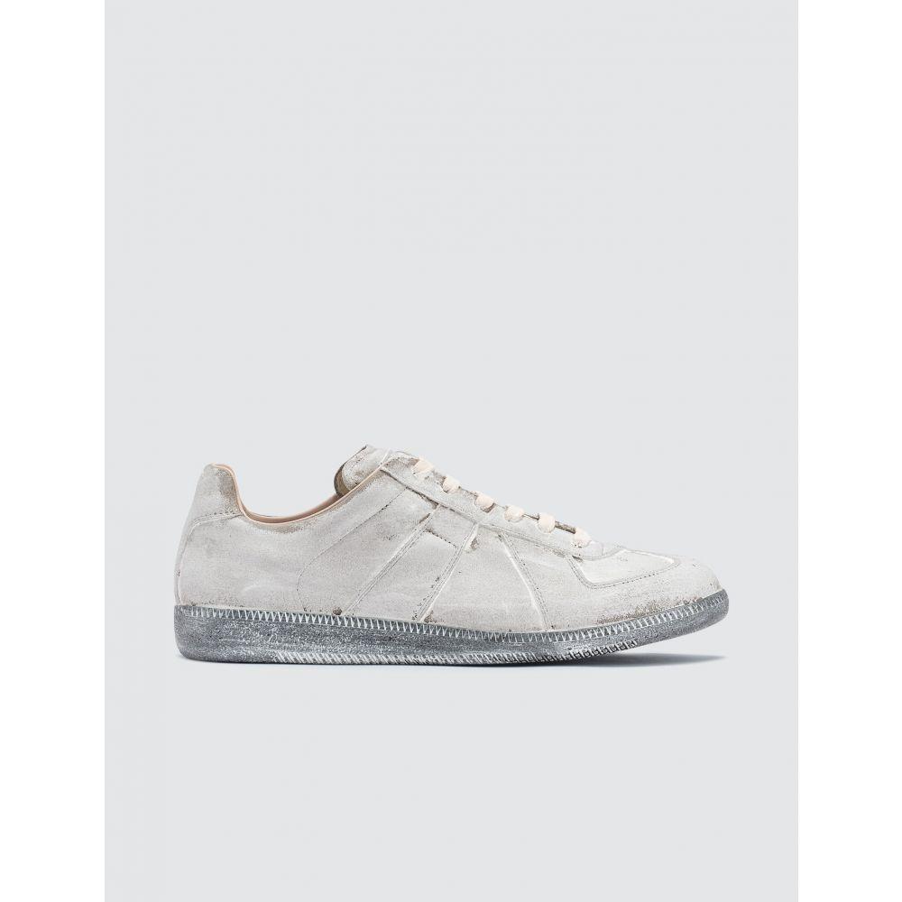 メゾン マルジェラ Maison Margiela メンズ スニーカー ローカット シューズ・靴【Replica Low Top Sneaker】Grey/Blue