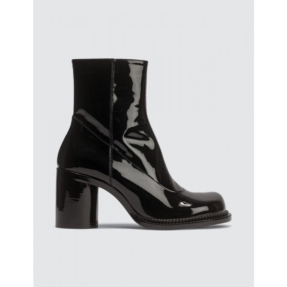 メゾン マルジェラ Maison Margiela レディース ブーツ ショートブーツ シューズ・靴【Ankle Patent Leather Boots】Black