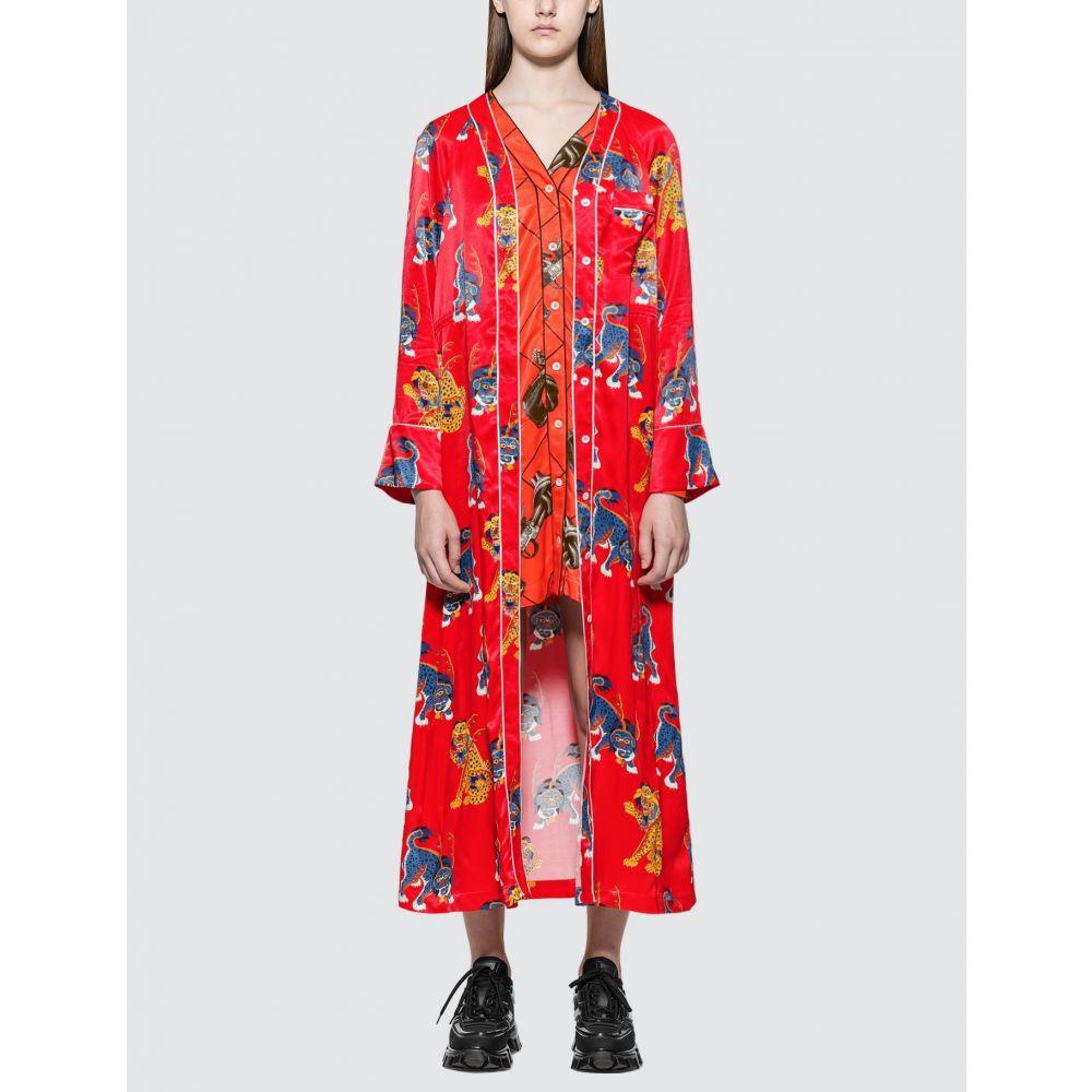キリン Kirin レディース パジャマ・トップのみ インナー・下着【Haetae Viscose Pajama Dress】Red Multicol