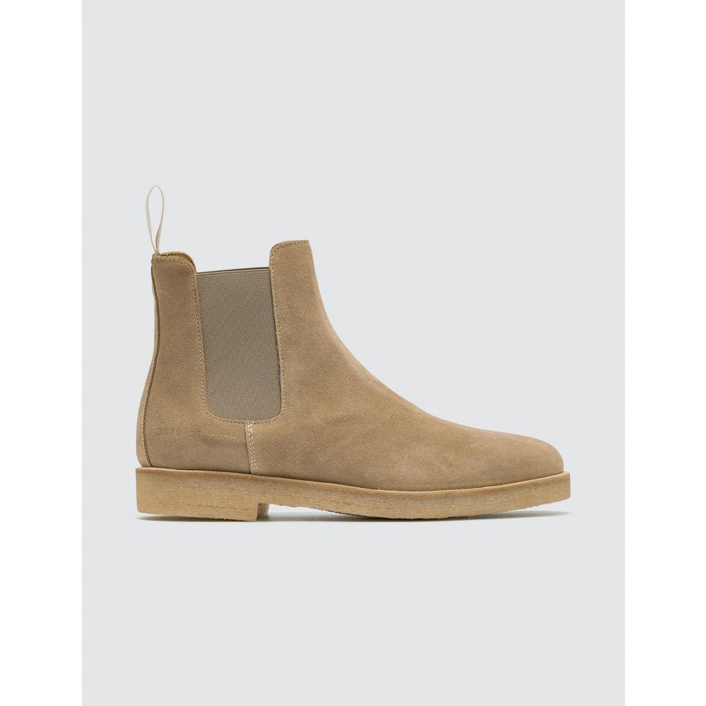 コモン プロジェクト Common Projects レディース ブーツ チェルシーブーツ シューズ・靴【Suede Chelsea Boots】Tan