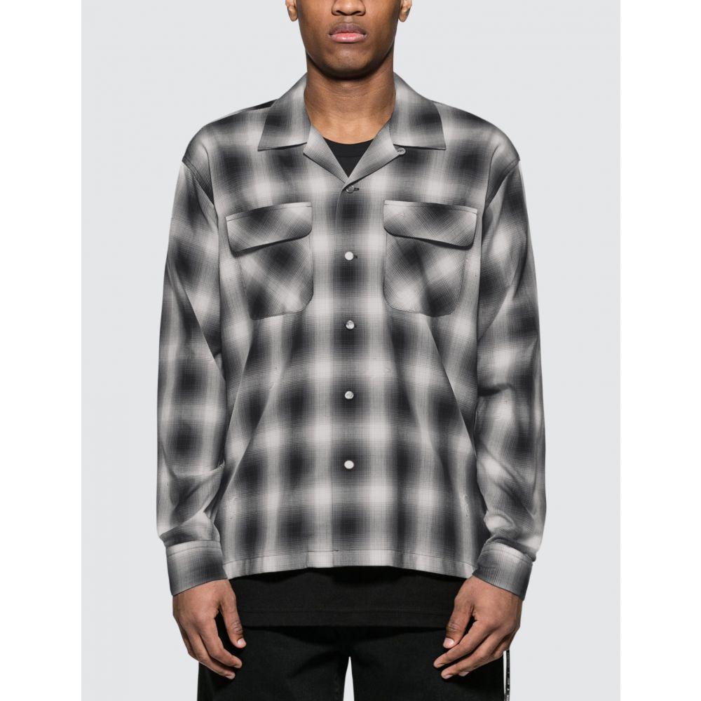 マスターマインド Mastermind World メンズ シャツ トップス【Shirt】Black/White