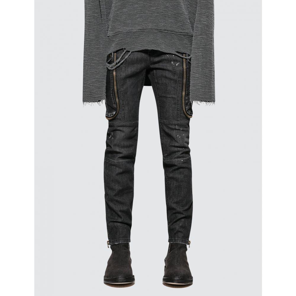 フェイス コネクション Faith Connexion メンズ ジーンズ・デニム ボトムス・パンツ【Black Slim Fit Cargo Jean】Black