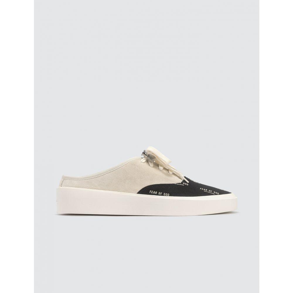 フィアオブゴッド Fear of God メンズ スニーカー シューズ・靴【101 Backless Sneaker】Black/White
