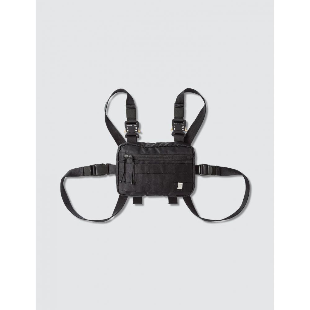アリクス 1017 ALYX 9SM メンズ ショルダーバッグ バッグ【Classic Mini Chest Rig】Black