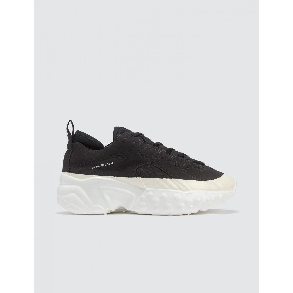 アクネ ストゥディオズ Acne Studios メンズ スニーカー シューズ・靴【Rockaway Dip Sneakers】Black/White