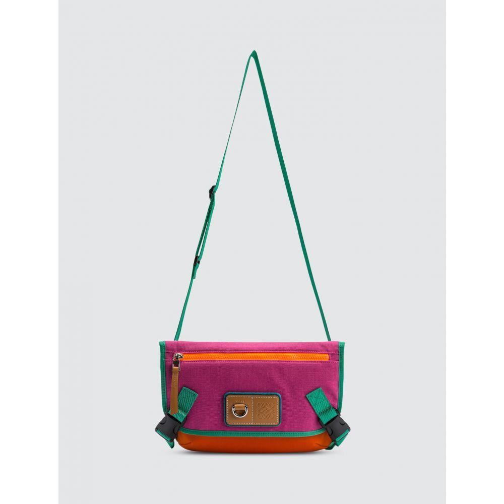 ロエベ Loewe メンズ メッセンジャーバッグ バッグ【ELN Messenger Small Bag】Violet/Orange