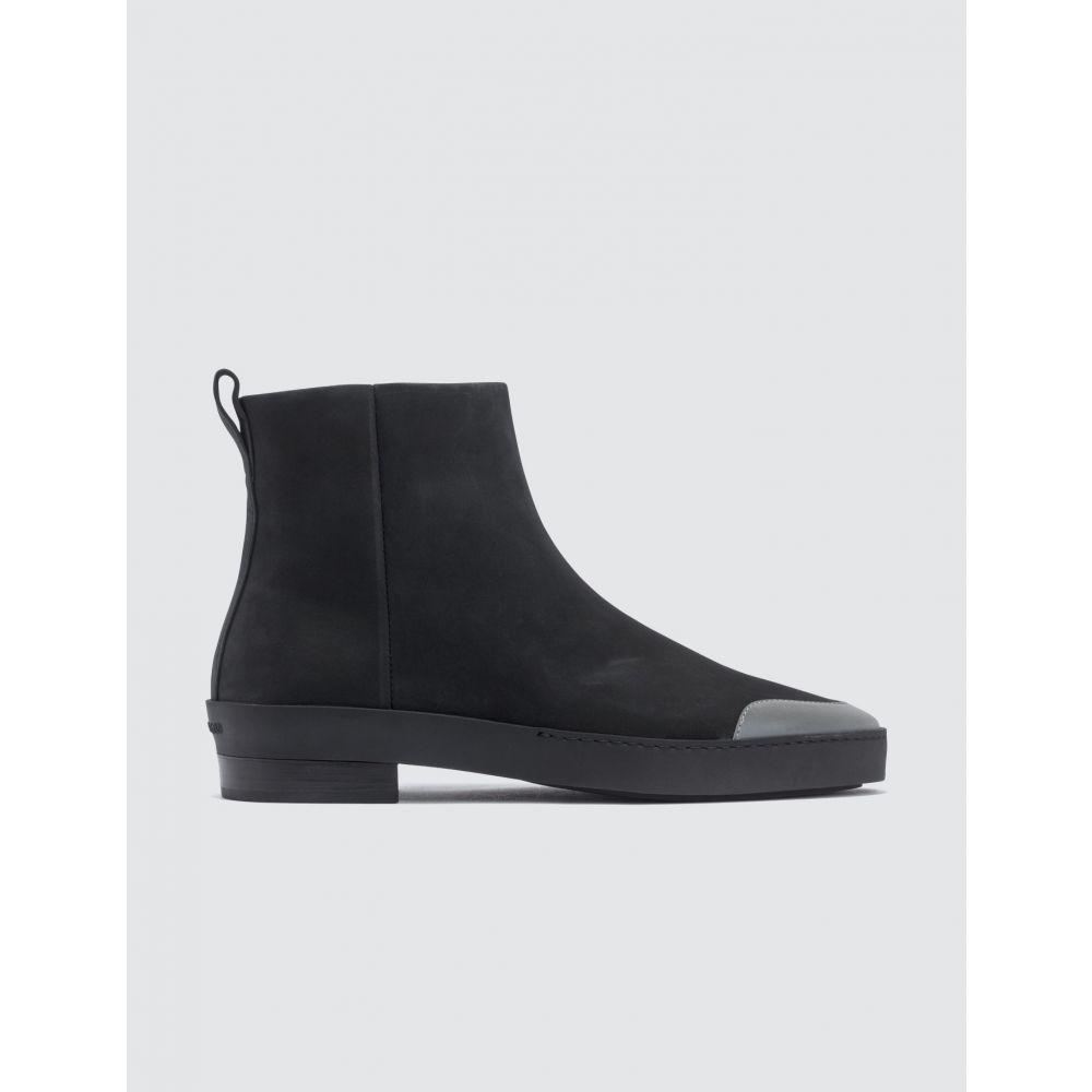 フィアオブゴッド Fear of God メンズ ブーツ チェルシーブーツ シューズ・靴【Black Chelsea Santa FE Boot】Black