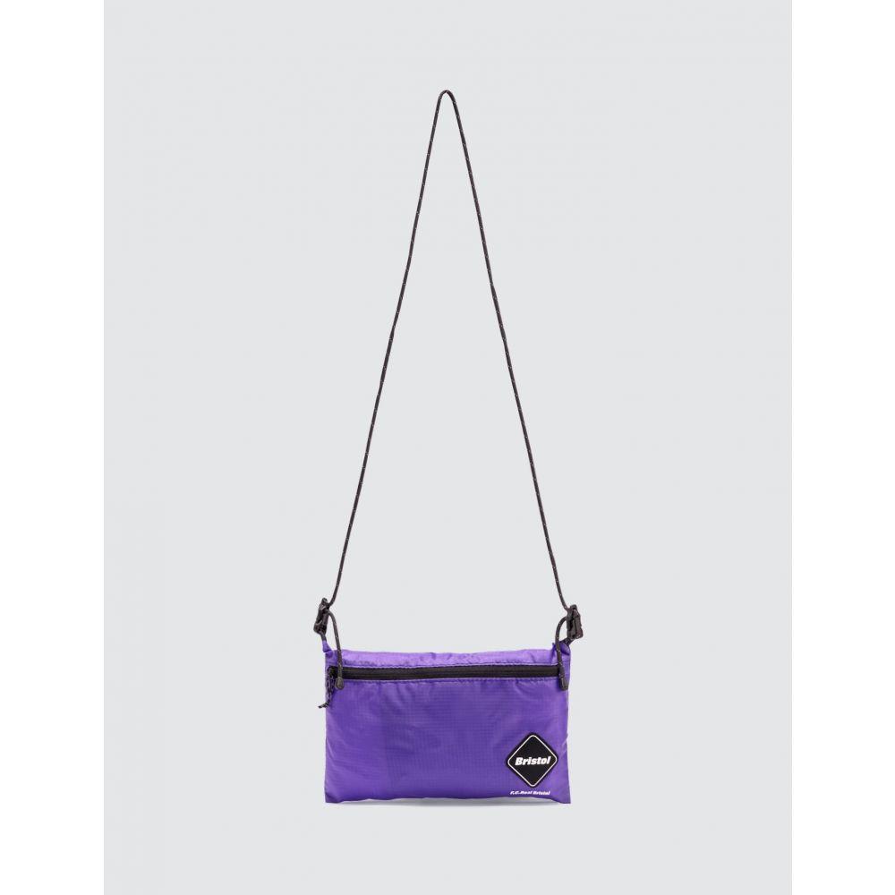 エフシーレアルブリストル F.C. Real Bristol メンズ ショルダーバッグ バッグ【Emblem Crossbody Bag】Purple
