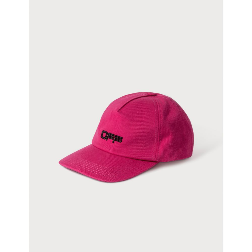 オフホワイト Off-White レディース キャップ ベースボールキャップ 帽子【OFF Logo Baseball Cap】Fuchsia