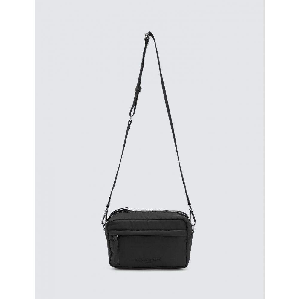 メゾン キツネ Maison Kitsune メンズ ショルダーバッグ カメラバッグ バッグ【Camera Bag】Black