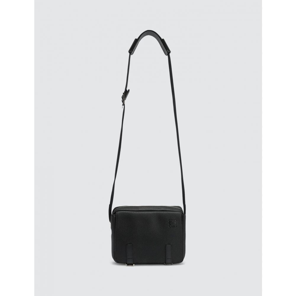 ロエベ Loewe メンズ メッセンジャーバッグ バッグ【Military Messenger Xs Bag】Black