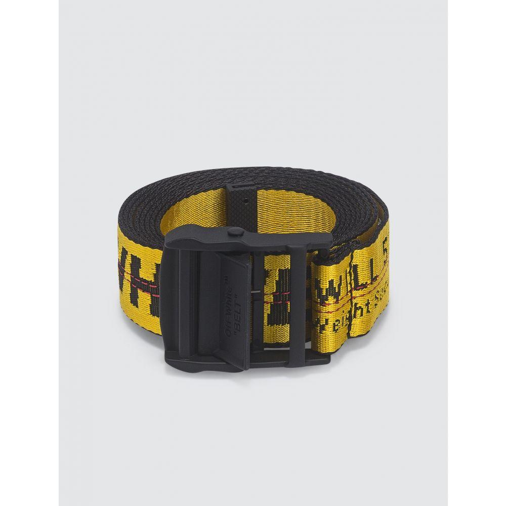 オフホワイト Off-White メンズ ベルト 【Carryover Industrial Belt】Yellow/Black