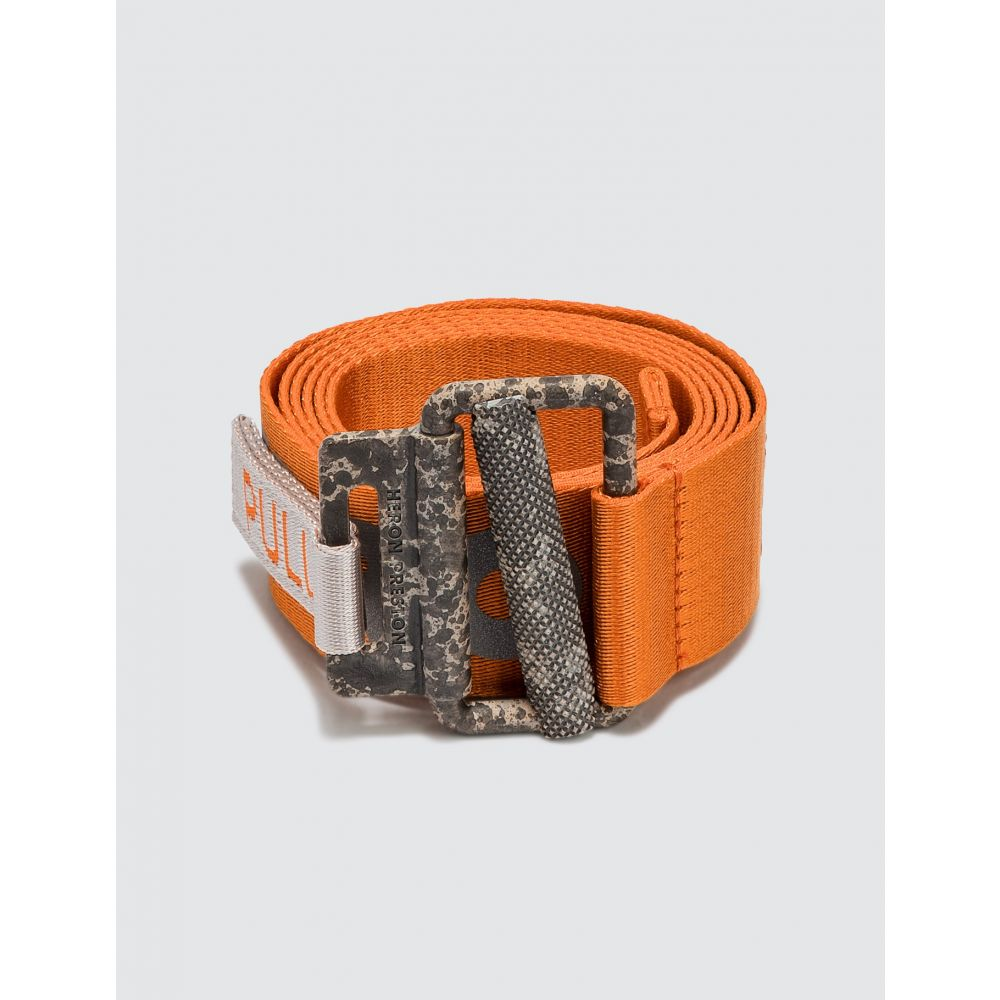 ヘロン プレストン Heron Preston メンズ ベルト 【Reflective Tape Belt】Orange Concrete