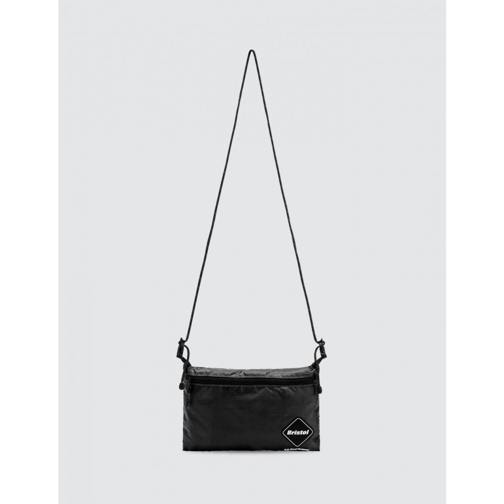 エフシーレアルブリストル F.C. Real Bristol メンズ ショルダーバッグ バッグ【Emblem Crossbody Bag】Black