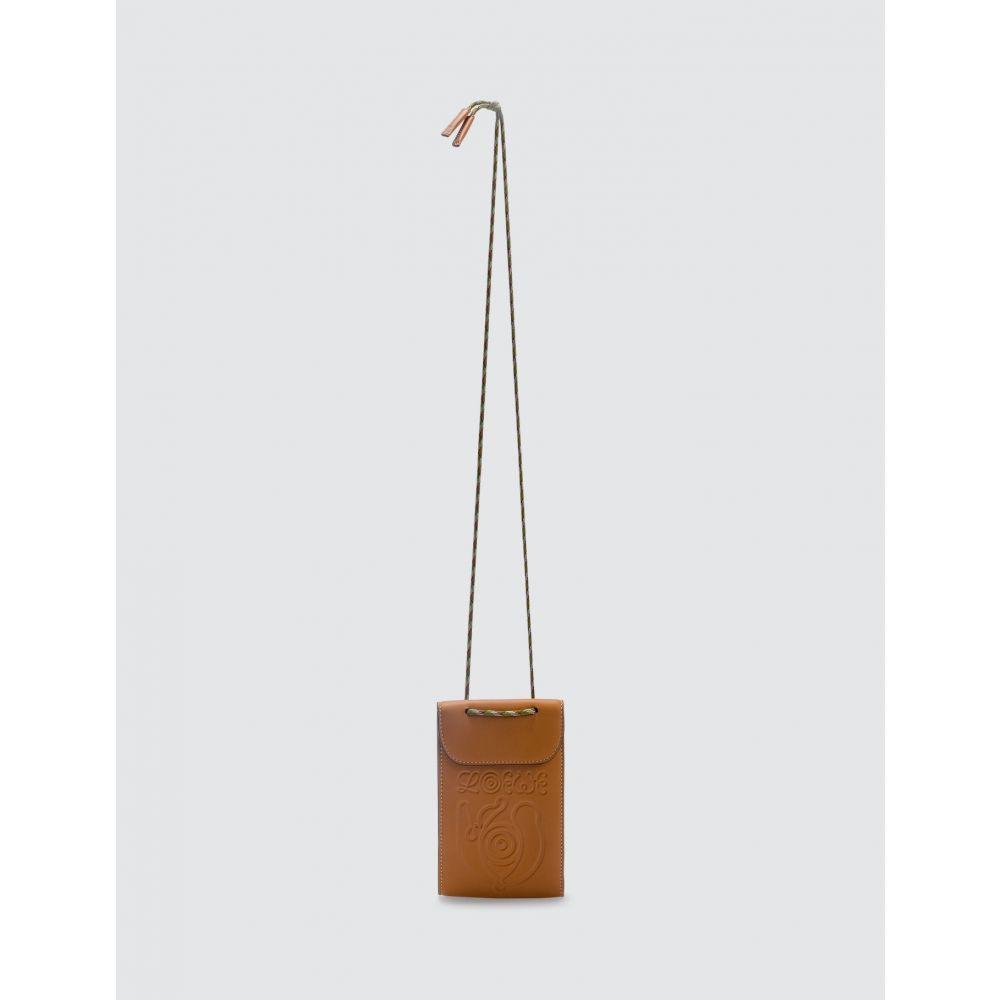 ロエベ Loewe メンズ ショルダーバッグ バッグ【ELN Neck Pocket Bag】Honey
