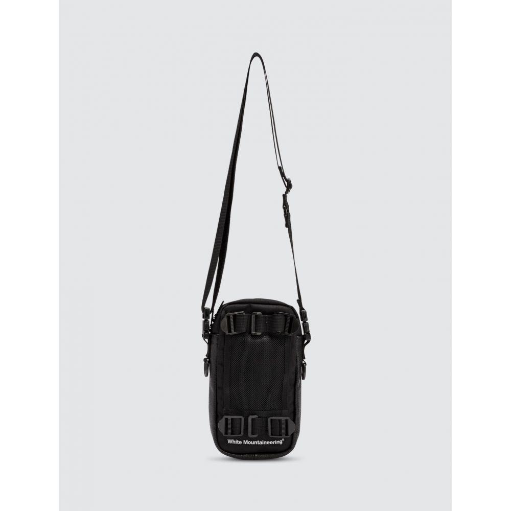 ホワイトマウンテニアリング White Mountaineering メンズ ショルダーバッグ バッグ【Mesh Shoulder Bag】Black