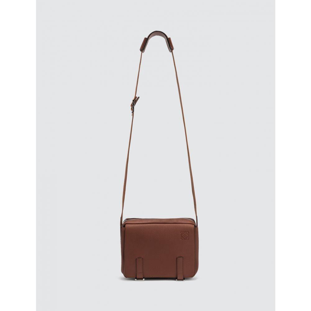 ロエベ Loewe メンズ メッセンジャーバッグ バッグ【Military Messenger Xs Bag】Brown
