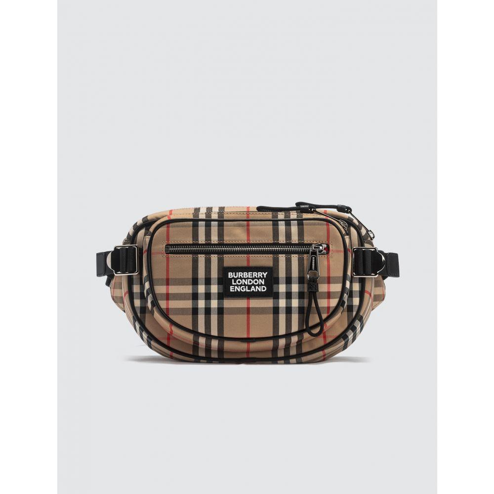 バーバリー Burberry メンズ ボディバッグ・ウエストポーチ バッグ【Logo Belt Bag】Archive Beige