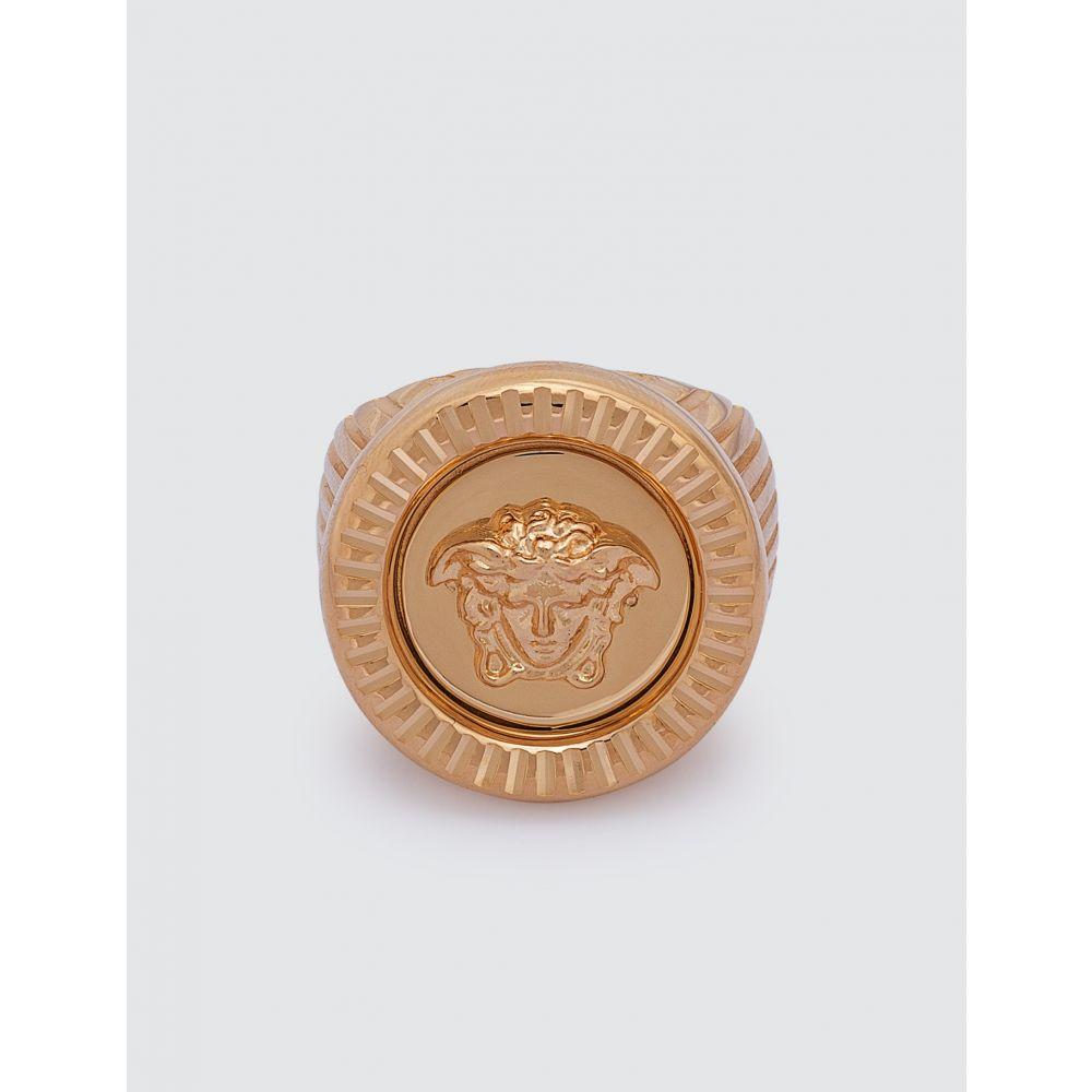 ヴェルサーチ Versace メンズ 指輪・リング メデューサ ジュエリー・アクセサリー【Medusa Ring】Rose Gold