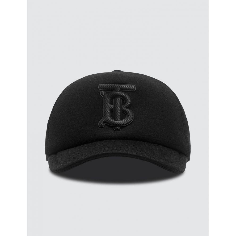バーバリー Burberry レディース キャップ ベースボールキャップ 帽子【Monogram Motif Neoprene Baseball Cap】Black