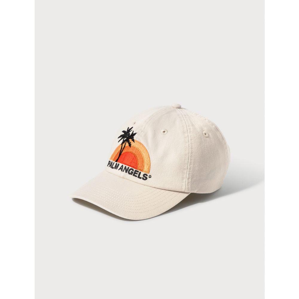 パーム エンジェルス Palm Angels レディース キャップ 帽子【Sunset Cap】Ecru