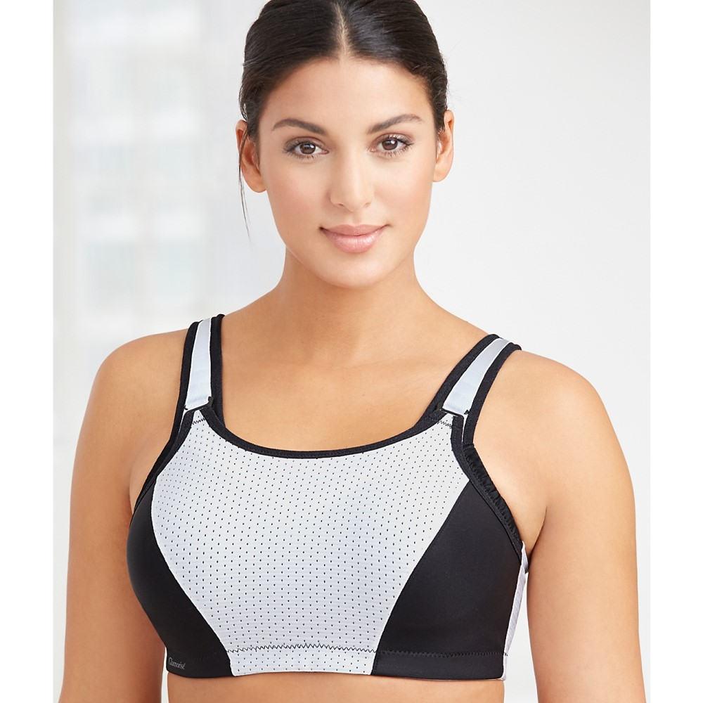グラマライズ レディース インナー・下着 スポーツブラ【Glamorise Adjustable Support Underwire Sports Bra】White