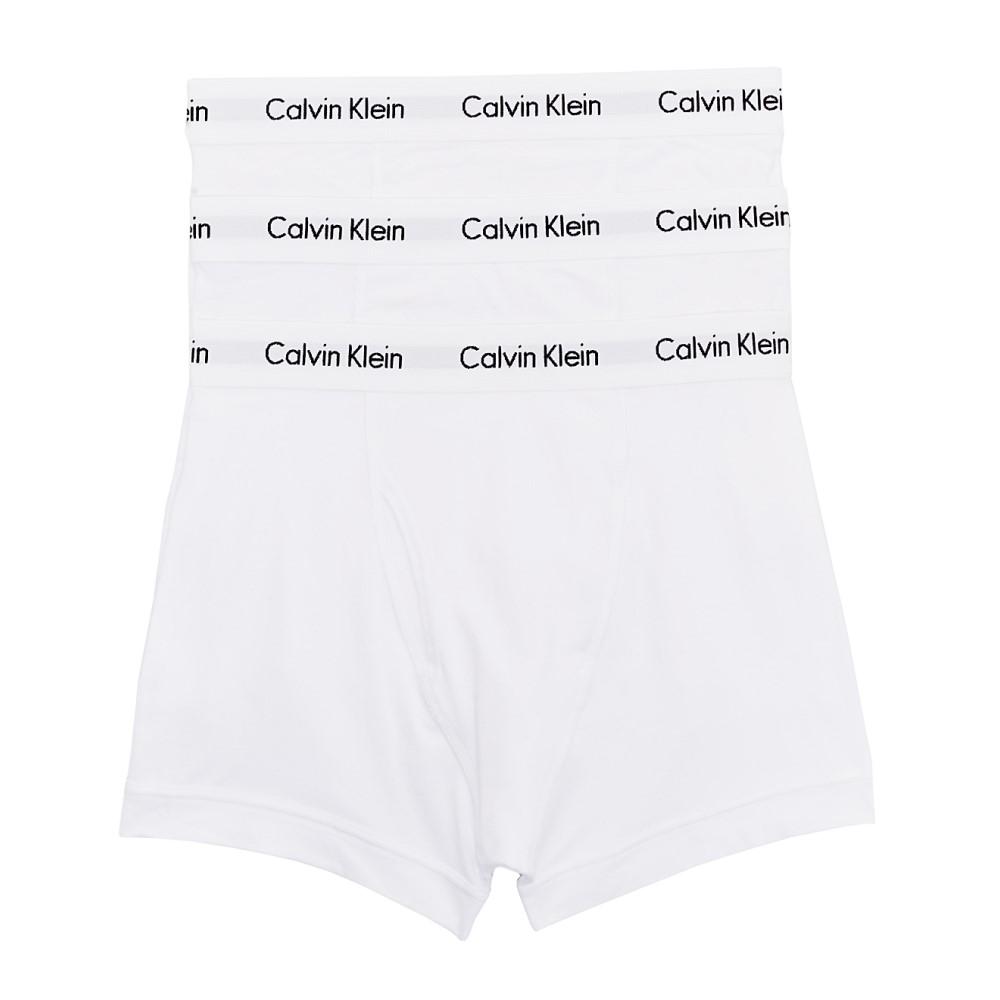 カルバンクライン メンズ インナー・下着 ボクサーパンツ【Calvin Klein Cotton Stretch Trunk 3-Pack】White