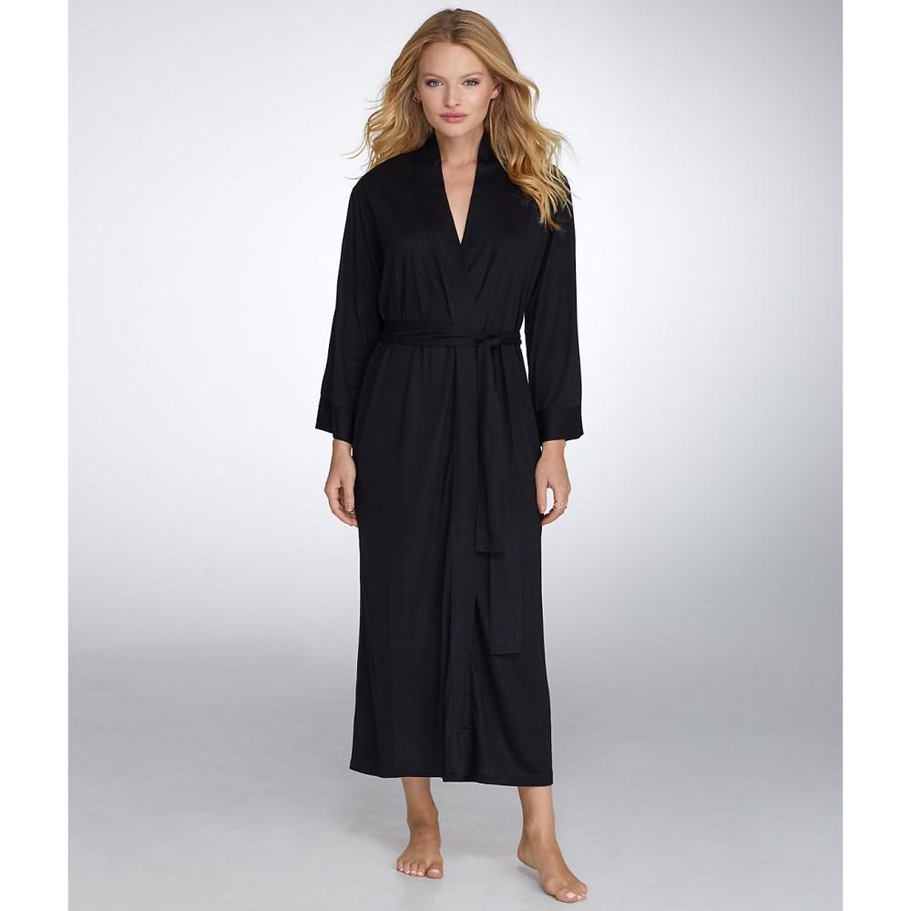 ナトリ レディース インナー・下着 ガウン・バスローブ【N Natori Congo Knit Robe】Black