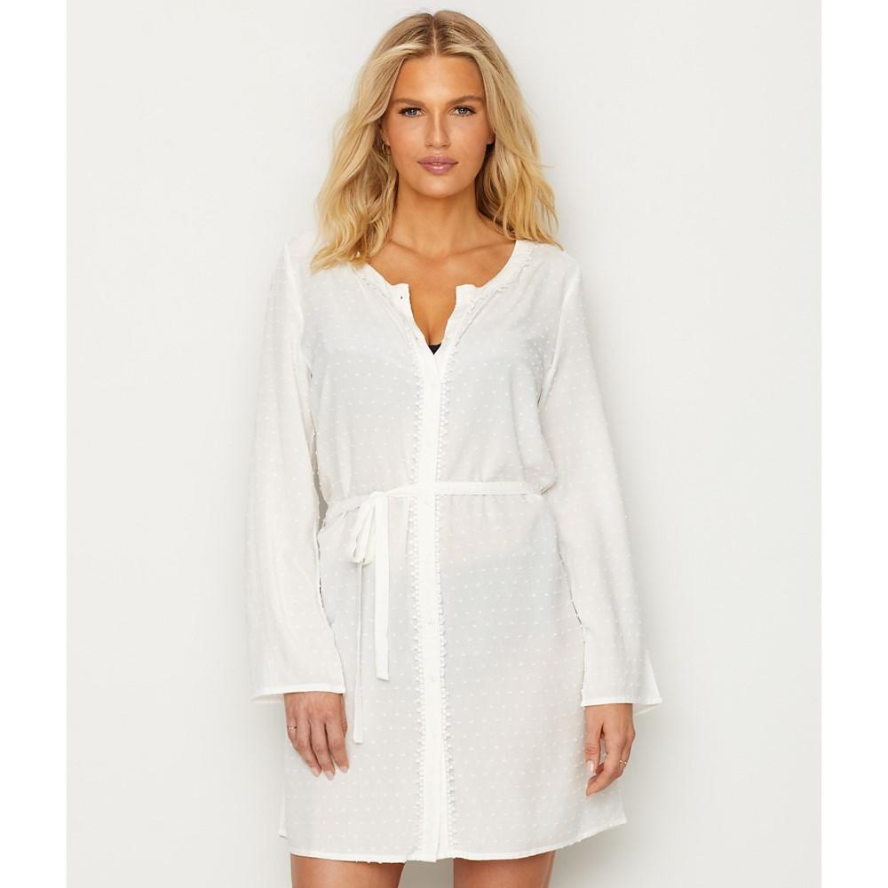 ポアモア レディース 水着・ビーチウェア ビーチウェア【Pour Moi Siesta Cover-Up Dress】White
