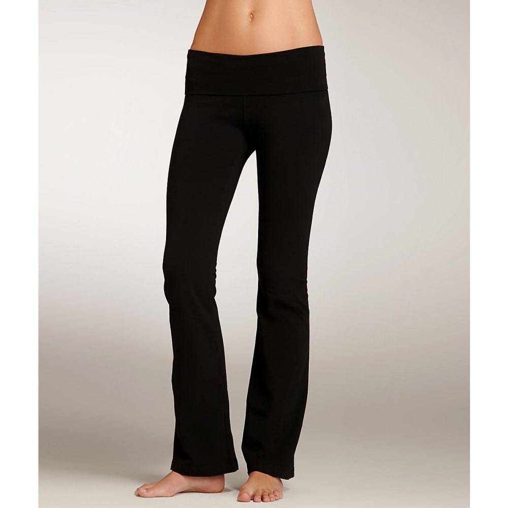 【1着でも送料無料】 ハードテイル Rolldown レディース ヨガ・ピラティス ボトムス・パンツ Pants】Black Tail【Hard Tail Rolldown Boot Leg Yoga Pants】Black, 住用村:215558fd --- lexloci.com.br