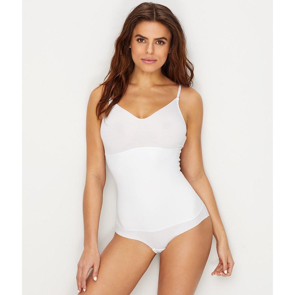 ユミエ レディース インナー・下着 ボディースーツ【Yummie Cotton Shape Medium Control Bodysuit】White