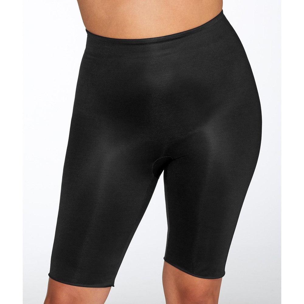 スパンクス レディース インナー・下着【SPANX Plus Size Power Conceal-Her Medium Control Mid-Thigh Shaper】Very Black