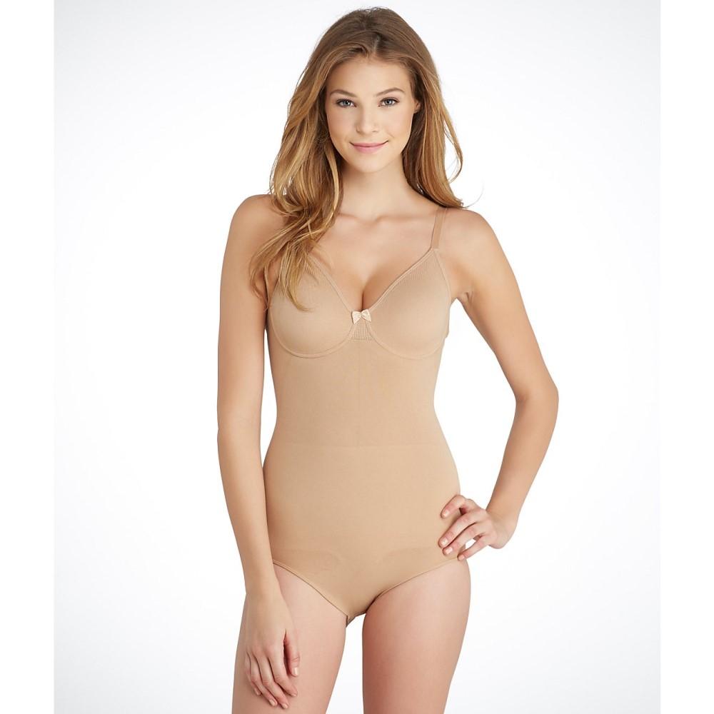 ボディラップ レディース インナー・下着 ボディースーツ【Body Wrap Firm Control Seamless Bodysuit】Nude