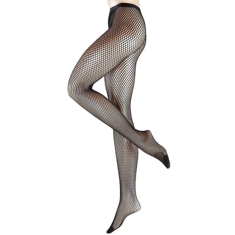 ファルケ レディース インナー・下着 タイツ・ストッキング【Falke Autumn Basket Fishnet Pantyhose】Black