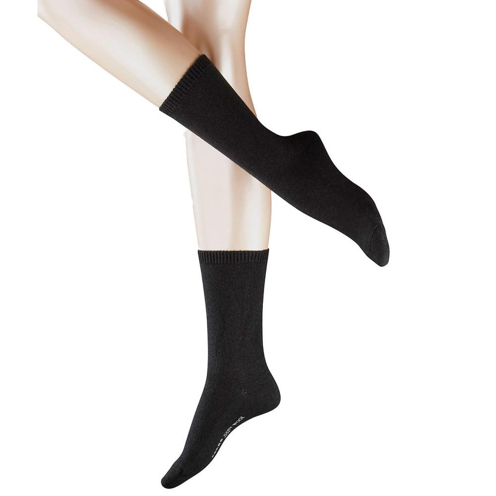 ファルケ レディース インナー・下着 ソックス【Falke Cosy Wool Socks】Black