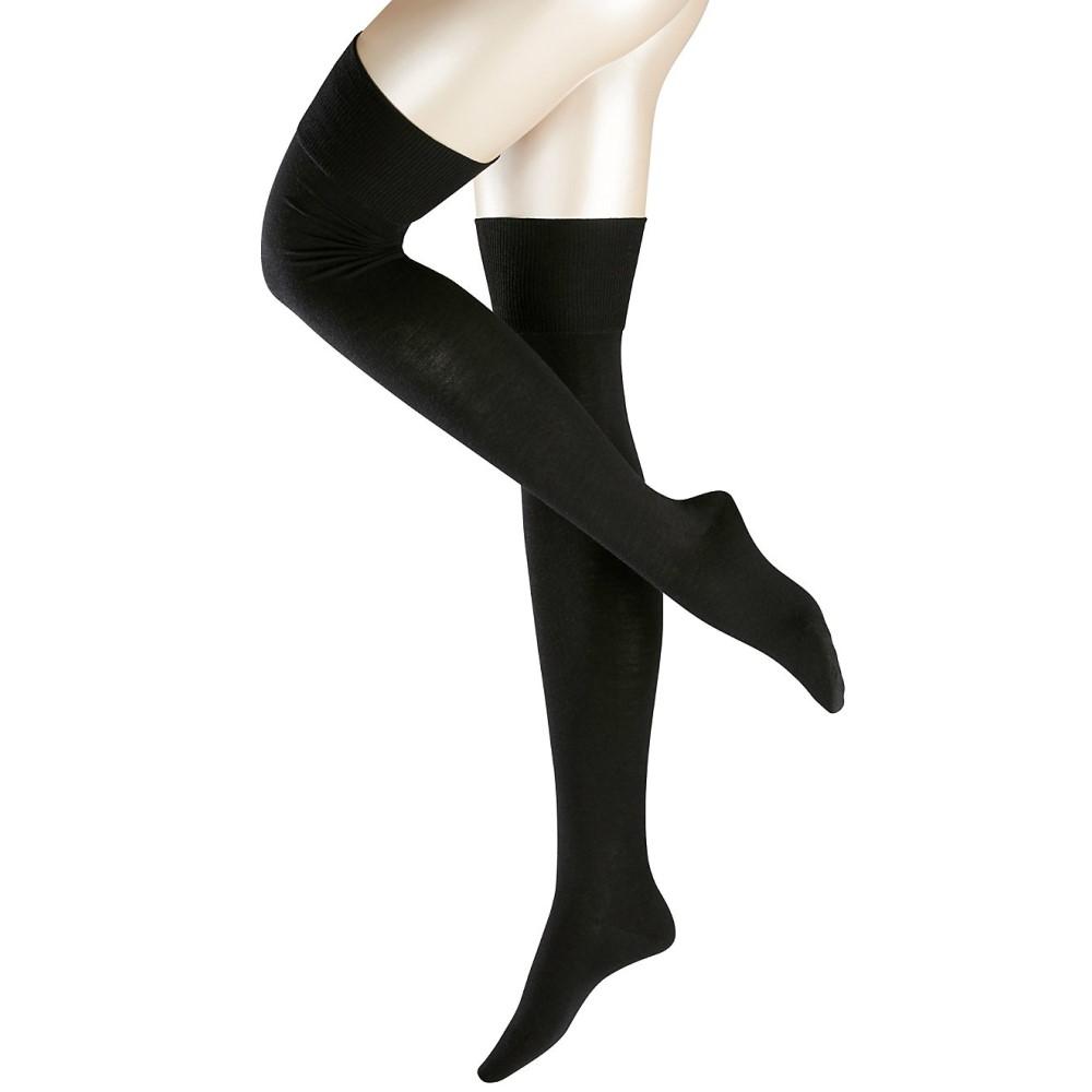 ファルケ レディース インナー・下着 ソックス【Falke Striggings Over The Knee Socks】Black