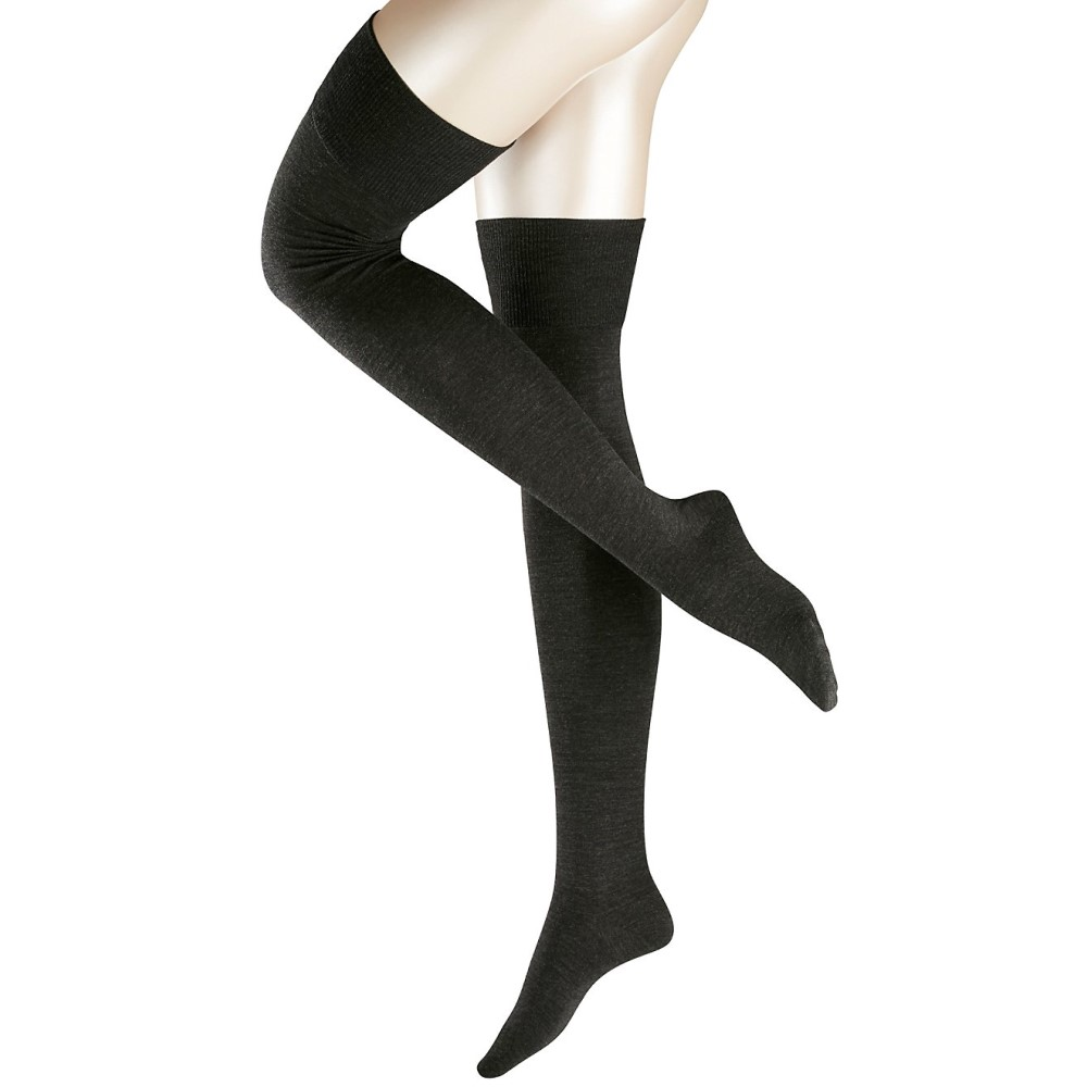 ファルケ レディース インナー・下着 ソックス【Falke Striggings Over The Knee Socks】Anthracite