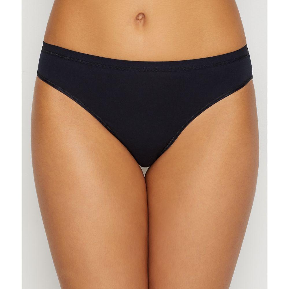 ハンロ Hanro レディース インナー・下着 ショーツのみ【Cotton Sensation Bikini】Black