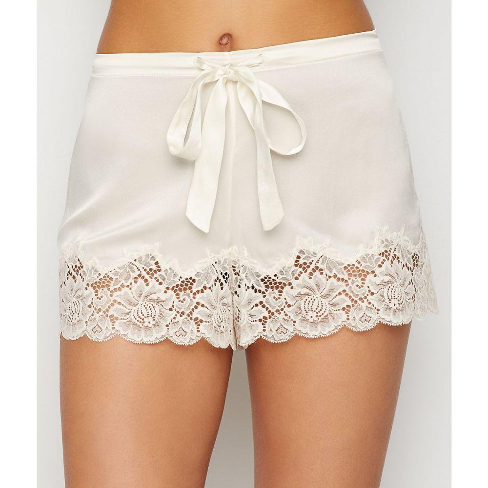 ジニア Ginia レディース インナー・下着 パジャマ・ボトムのみ【Silk Lace Trim Sleep Shorts】Ivory Lace