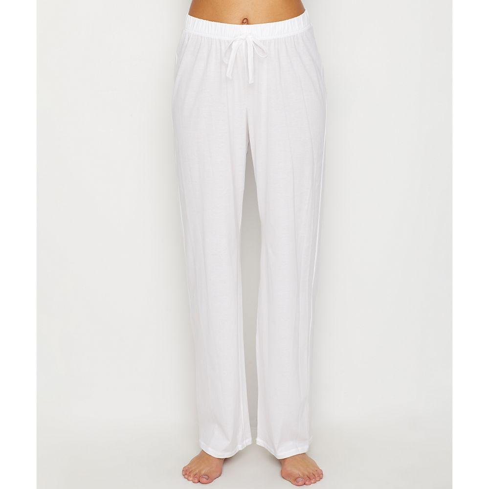 ハンロ Hanro レディース インナー・下着 パジャマ・ボトムのみ【Cotton Deluxe Lounge Pants】White