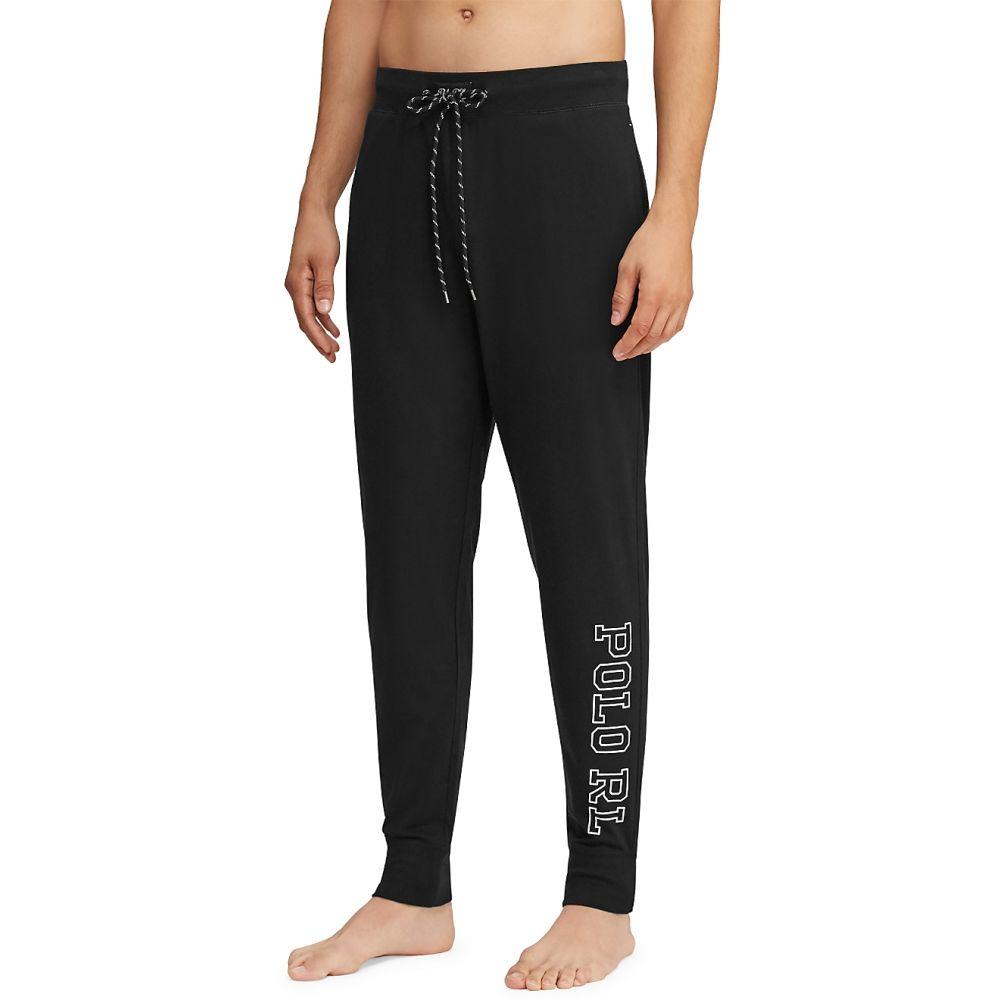 ラルフ ローレン Polo Ralph Lauren メンズ ボトムス・パンツ ジョガーパンツ【Knit Jersey Jogger Lounge Pants】Black