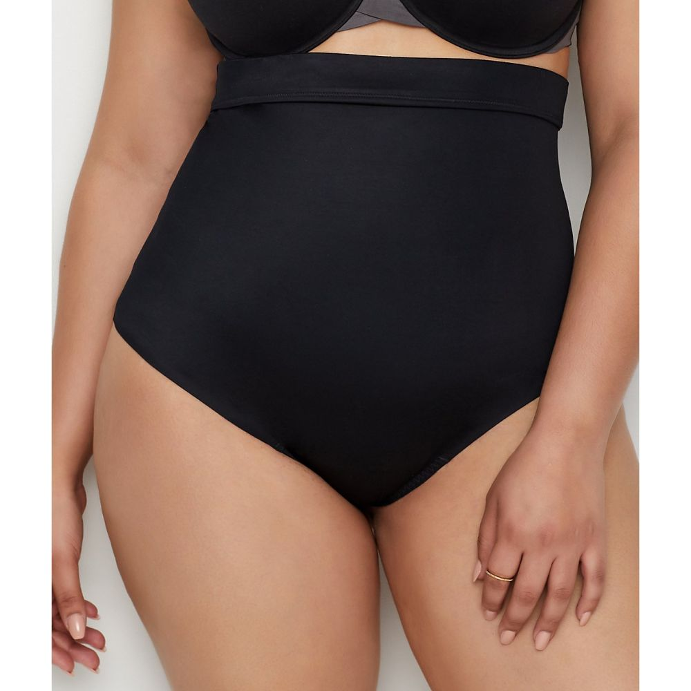 スパンクス SPANX レディース インナー・下着【Plus Size Suit Your Fancy High-Waist Shaping Thong】Very Black