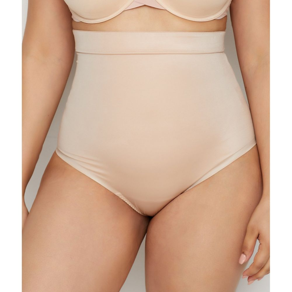 スパンクス SPANX レディース インナー・下着【Plus Size Suit Your Fancy High-Waist Shaping Thong】Champagne Beige