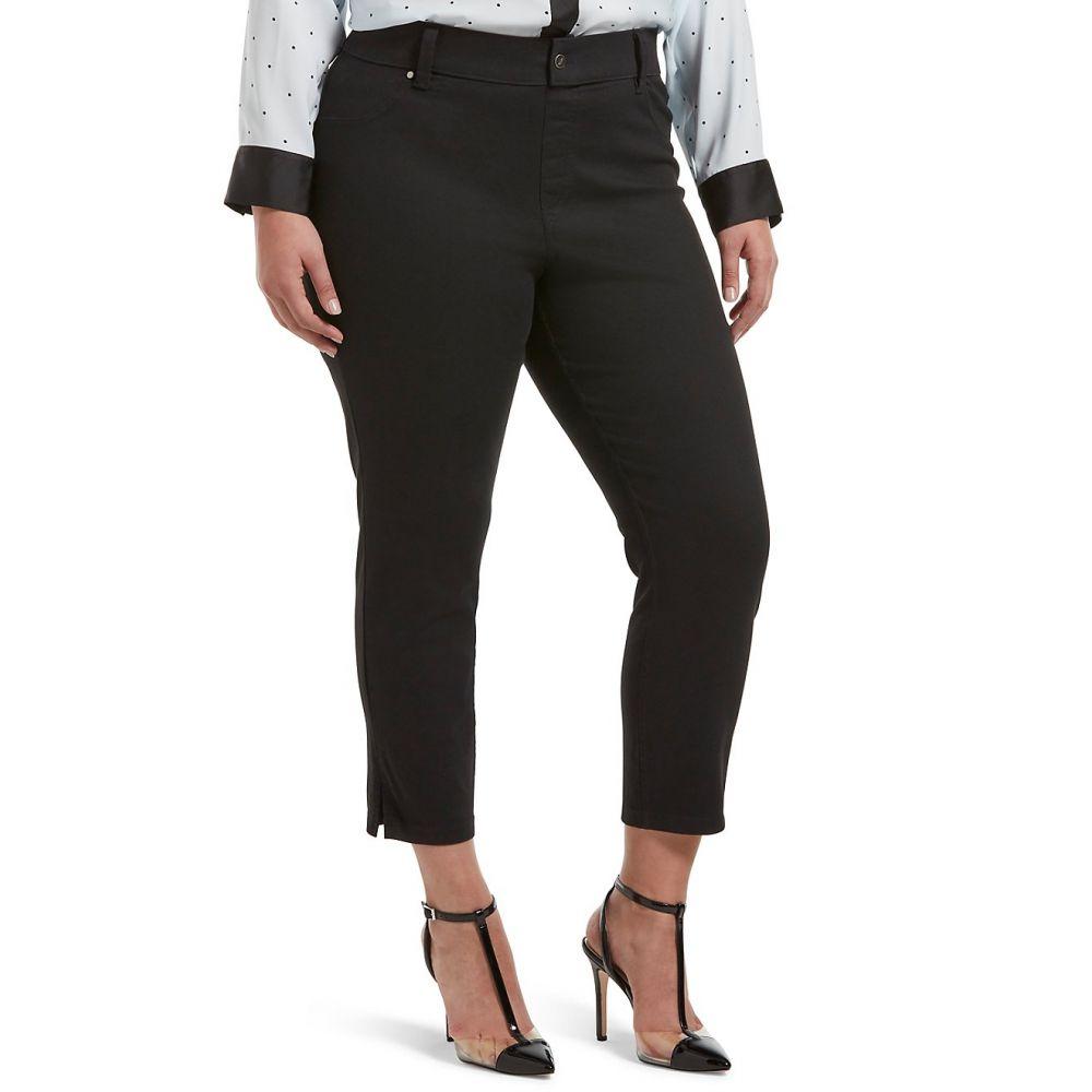 フエ HUE レディース インナー・下着 HUE スパッツ・レギンス【Plus Leggings】Black フエ Size Ultra Soft Denim Capri Leggings】Black, ツヤマシ:16fb251c --- stilus-szenvedelye.hu