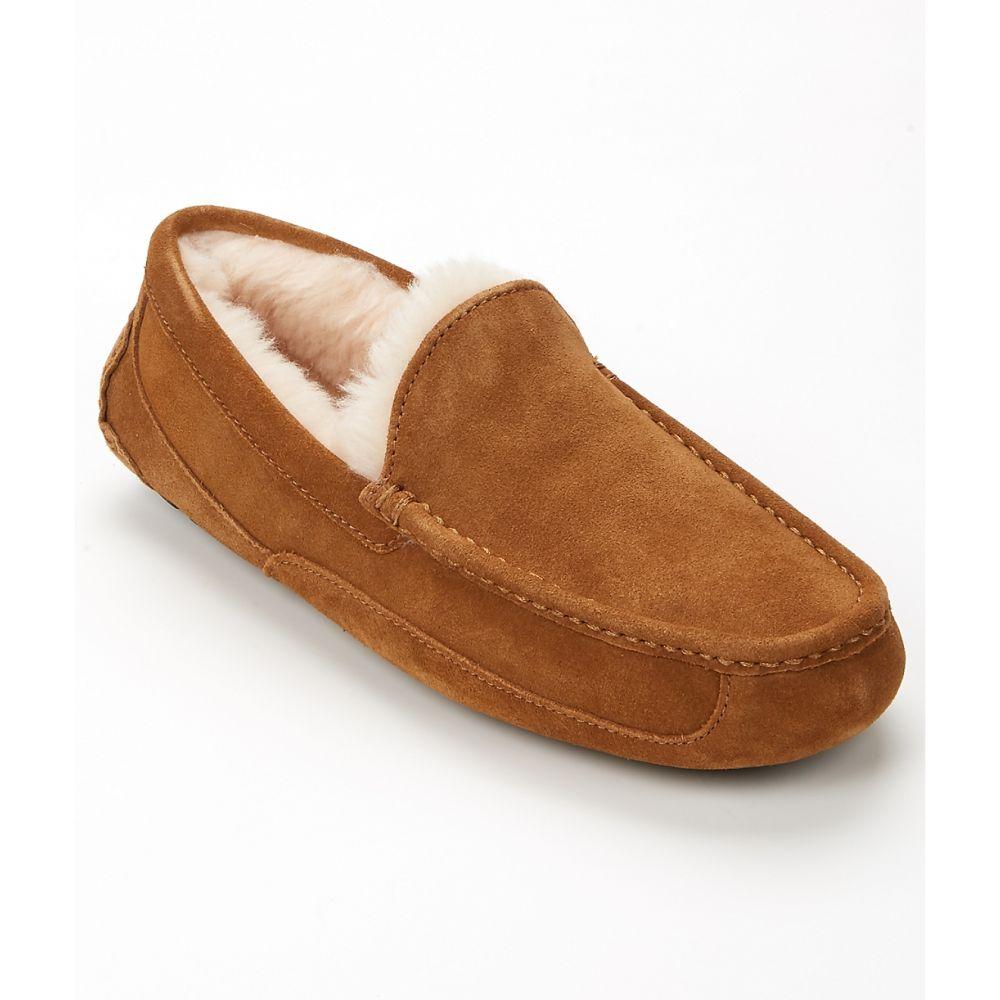 アグ UGG メンズ シューズ・靴 スリッパ【Ascot Suede Slippers】Chestnut