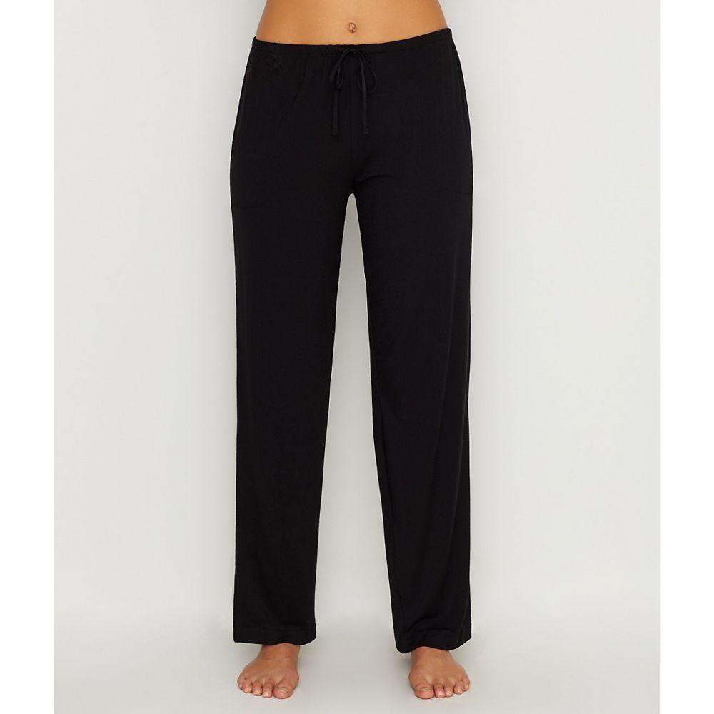 ダナ キャラン ニューヨーク Donna Karan レディース パジャマ・ボトムのみ インナー・下着【Modal Pajama Pants】Black