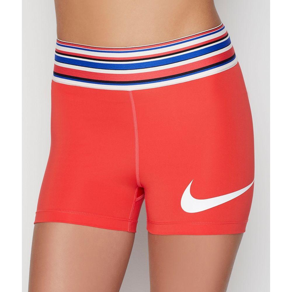 ナイキ Nike レディース フィットネス・トレーニング ショートパンツ ボトムス・パンツ【Spring Pro 3'' Training Shorts】Track Red