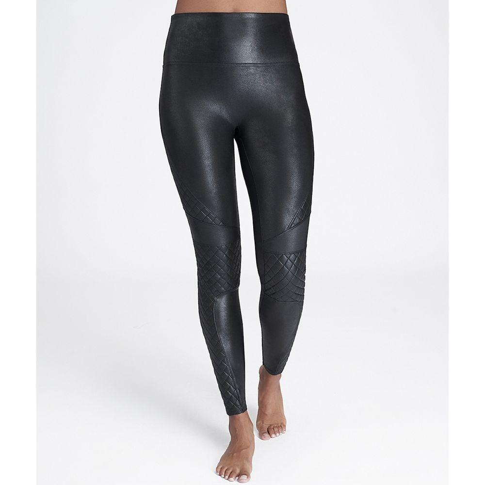 スパンクス SPANX レディース ボトムス・パンツ レザーレギンス【Quilted Faux Leather Leggings】Very Black