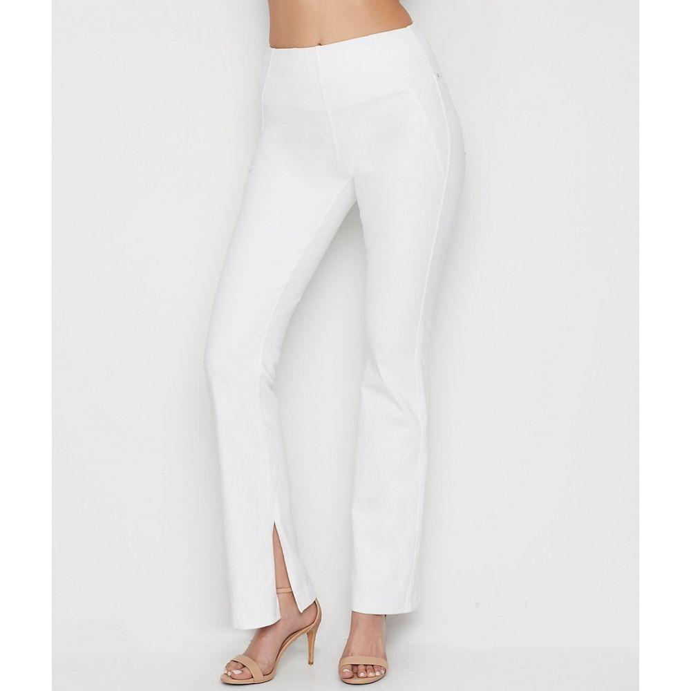 リサ LyssA レディース ボトムス・パンツ ブーツカット【Denim Baby Bootcut Pants】White