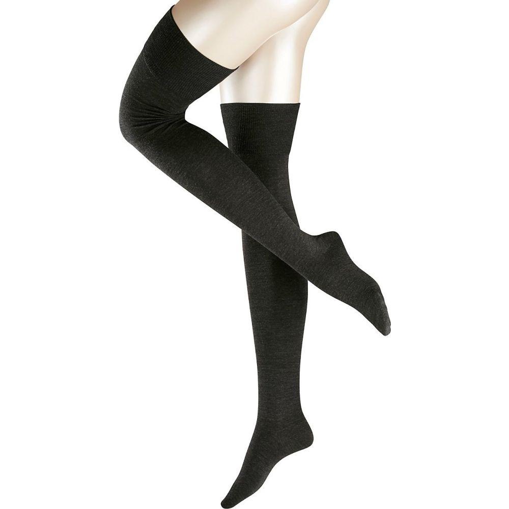 ファルケ Falke レディース ソックス インナー・下着【Striggings Over The Knee Socks】Anthracite